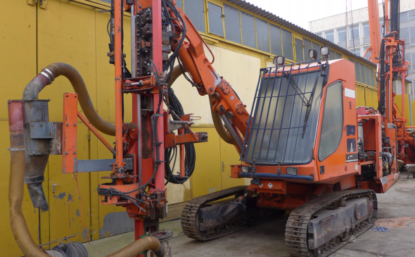 Tamrock Pantera 1100 – Year 1998 – 17800 Hours – Used Sandvik Tamrock Drilling Rig for Sale