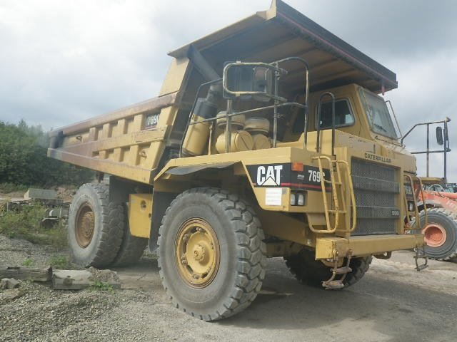 Caterpillar 769C – Used CAT Quarry Truck For Sale